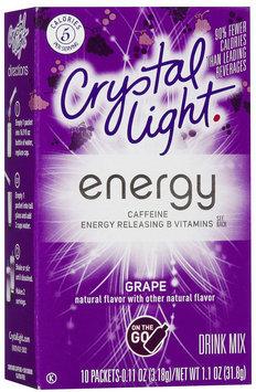 Crystal Light On The Go Energy Grape