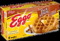 Kellogg's Eggo Thick & Fluffy Cinnamon Brown Sugar Waffles