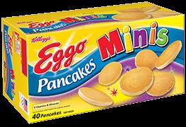 Kellogg's Eggo Minis Buttermilk Pancakes
