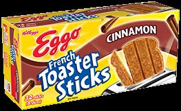 Kellogg's Eggo French Toaster Sticks Cinnamon