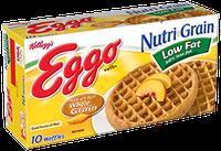 Kellogg's Eggo Nutri-Grain Low Fat Whole Wheat Waffles