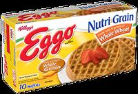 Kellogg's Eggo Nutri-Grain Whole Wheat Waffles
