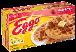 Kellogg's Eggo Strawberry Waffles