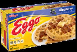 Kellogg's Eggo Blueberry Waffles