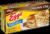 Kellogg's Eggo Chocolate Chip Pancakes