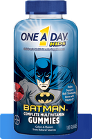 One A Day® Kids BATMAN™ Gummies