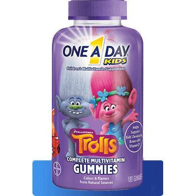 One A Day® Kids Trolls Gummies