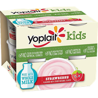 Yoplait® Kids Strawberry With Whole Milk Yogurt