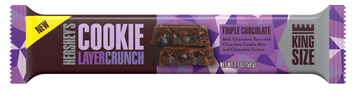 Hershey's Cookie Layer Crunch King Size Bar Triple Chocolate