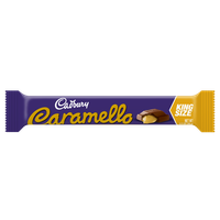Cadbury Caramello King Bar Milk Chocolate & Creamy Caramel Bar