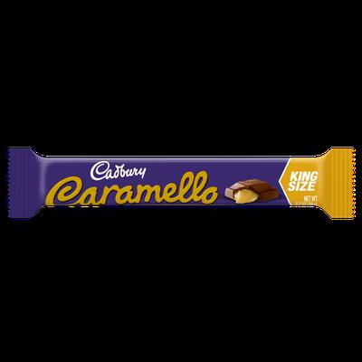 Cadbury Caramello King Bar Milk Chocolate & Creamy Caramel Bar