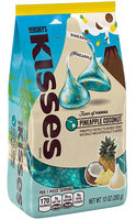 Hershey's Kisses Pineapple Coconut White Chocolate Candy