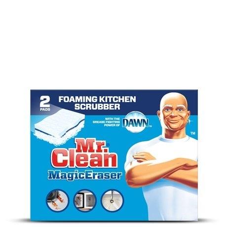 Mr Clean Magic Eraser Kitchen Scrubber Reviews Find The