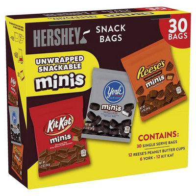 Hershey's Minis Candies Variety Assortment