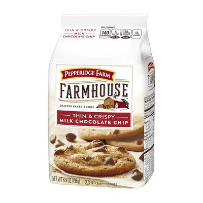 Pepperidge Farm® Farmhouse™ Thin & Crispy Milk Chocolate Chip Cookies