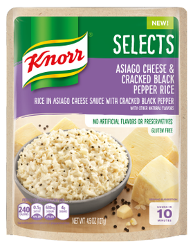 Knorr® Selects™ Asiago Cheese & Cracked Black Pepper