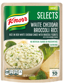 Knorr® Selects™ White Cheddar Broccoli Rice