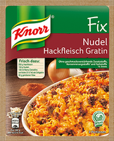 Knorr® Fix For Pasta Minced Meat Gratin