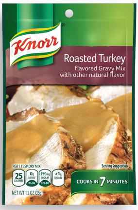 Knorr® Roasted Turkey Gravy Mix