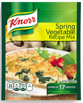 Knorr® Spring Vegetable Recipe Mix