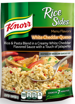 Knorr® Sides White Cheddar Queso Rice
