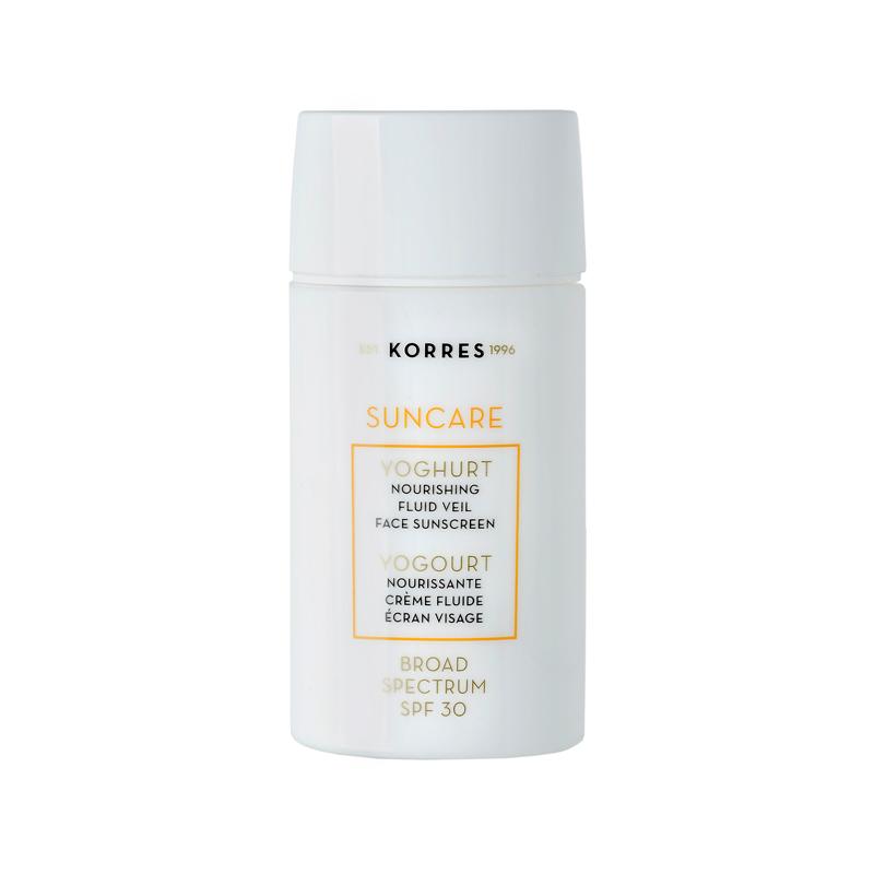KORRES Yoghurt Nourishing Fluid Veil Face Sunscreen SPF 30
