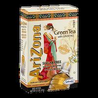 AriZona Sugar Free Green Tea with Ginseng Iced Tea Stix
