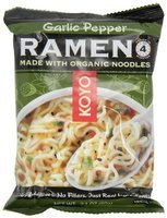 Koyo Natural Foods Ramen, Garlic Pepper