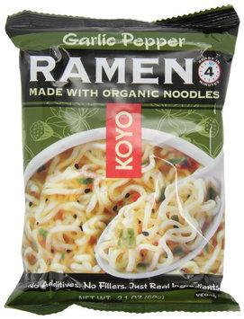 Koyo Natural Foods Ramen, Garlic Pepper
