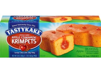 Tastykake® Krimpets® Apple Cinnamon with Jelly Filling Sponge Cakes