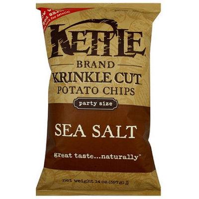 Kettle Brand® Krinkle Cut Sea Salt Potato Chips