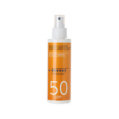 KORRES  Yoghurt SPF 50 Sunscreen Face & Body Emulsion