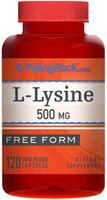 Piping Rock L-Lysine 500mg 120 Capsules