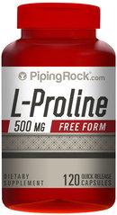 Piping Rock L-Proline 500mg 120 Capsules