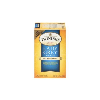 TWININGS® OF London Decaffeinated Lady Grey® Tea Bags