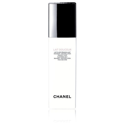 CHANEL Lait Douceur Cleansing Milk Balance + Anti-Pollution Face And Eyes