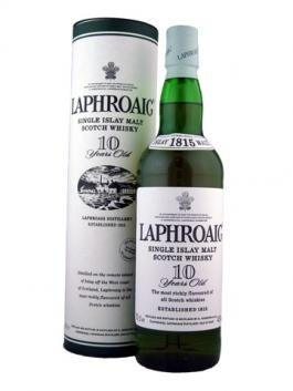 Laphroaig Single Malt Whiskey