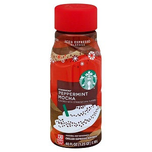 STARBUCKS® Iced Espresso Classic Peppermint Mocha