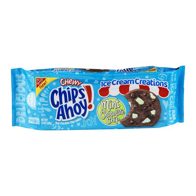 Nabisco Chips Ahoy! Ice Cream Creations Mint Chocolate Chip Cookies