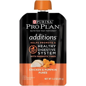 PRO PLAN® ADDITIONS™ Healthy Digestive System With Prebiotic Fiber Chicken & Pumpkin Puree