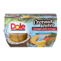Del Monte® Fruit Naturals® Peaches in Mango Flavored Coconut Water Fruit Cup