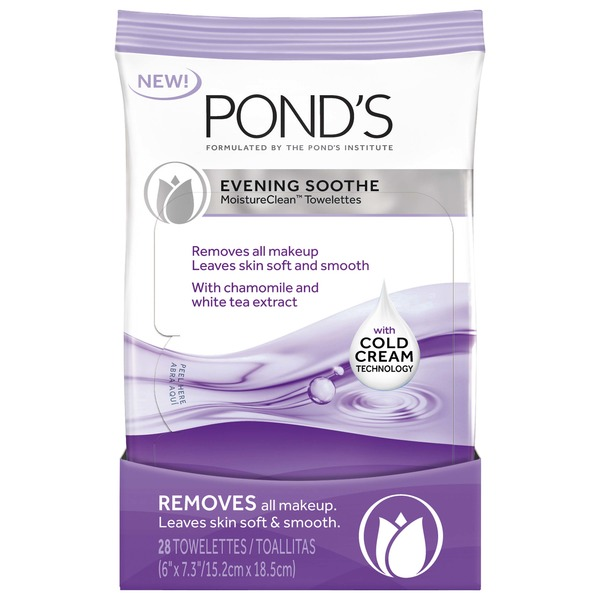 POND's Evening Soothe Moistureclean Towelettes