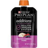 PRO PLAN® ADDITIONS™ Healthy Immune System With Vitamin E Chicken & Berries Puree