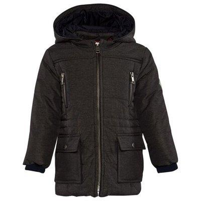 Grey Quilted Coat