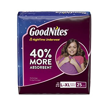 Huggies® GoodNites Underwear for Girls