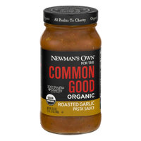 Newman's Own For The Common Good Organic Roasted Garlic Pasta Sauce