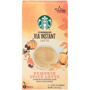 STARBUCKS® Pumpkin Spice Latte VIA® Instant