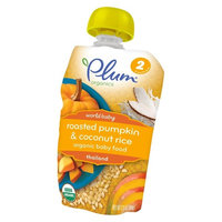 Plum Organics World Baby Roasted Pumpkin & Coconut Rice
