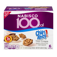 Nabisco Chips Ahoy! 100 Calories Baked Chocolate Chip Snacks