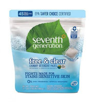 Seventh Generation Free & Clear Laundry Detergent Packs